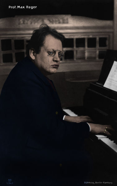 Max Reger at the
