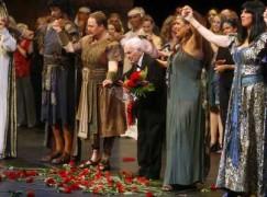 Death of an American maestro, 102