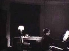 Rare 1944 video: Shostakovich composing his piano trio