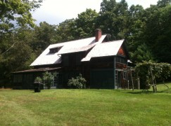 What's going down at the Charles Ives house?