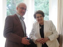 An honour at last for Lilian Hochhauser