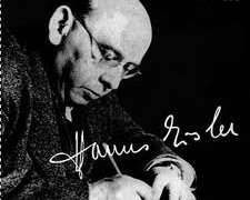 This great composer preferred to sing his own lieder