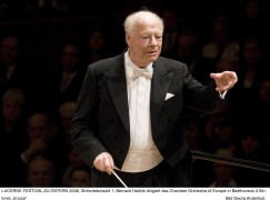 Peace at last: Haitink ends his Concertgebouw huff