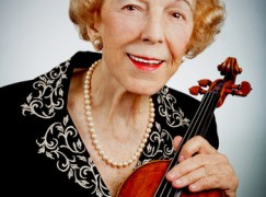 Death of renowned violin teacher and benefactor