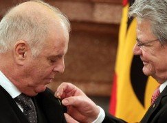 A lifetime award for Barenboim