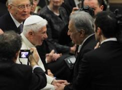 MMF concerto per Benedetto  XVI
