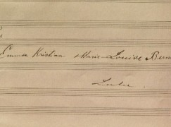 Finns appeal for return of 1,200 pages of Sibelius