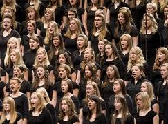 How many choirs are there in Europe? More than 1 million…