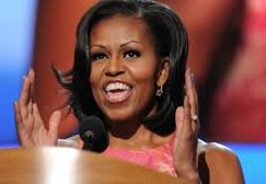 Michelle Obama hosts music education event. Strictly no classical