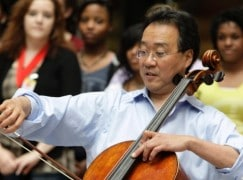 Exclusive: Yo Yo Ma fills in for sick orchestral cellist