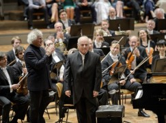 Rattle to Barenboim: 'You're family!'