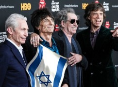 The Rolling Stones are in Israel. What are their backing singers paid?