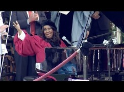 New video: Who's commencing at Harvard? Aretha….