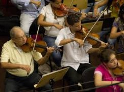 Karajan's concertmaster: still playing in Texas
