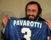 pavarotti football