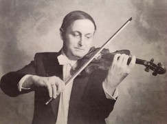 A much-recorded Belgian violinist has died