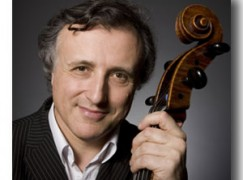 Jewish cellist plays to stop Holocaust memorial