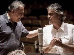 Andrea Bocelli to be conducted by robot