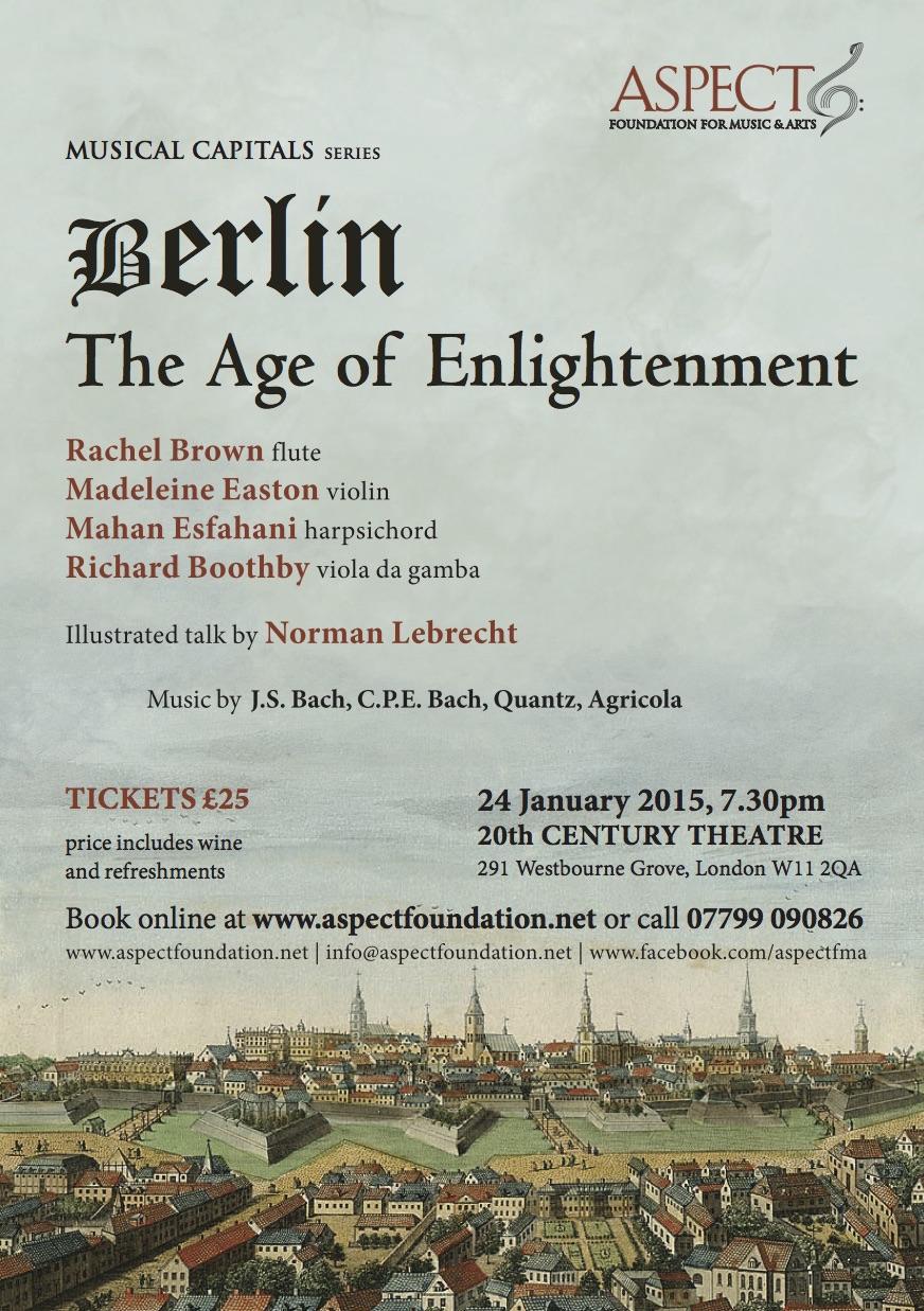 Enlightenment in Notting Hill on Saturday night