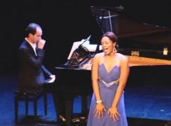 Diva drives: US soprano wins major management