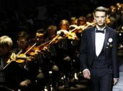 Silent orchestra launches Dior's new menswear line