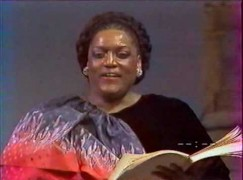 Jessye Norman accepts Canadian dollars