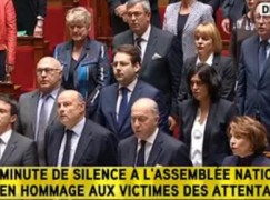 Just in: French National Assembly burst into spontaneous song
