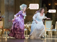 Two sopranos get captioned at Covent Garden