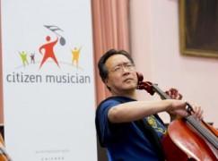 Yo-Yo Ma: 'I'm turning 60 and I want…'