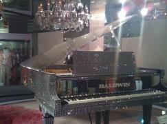 Liberace piano is buried