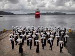 Meet the wettest orchestra in the world