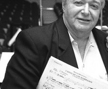Mourning for an American composer, aged 82