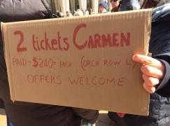 Carmen without Kaufmann? Make me an offer