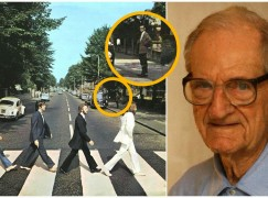 The man who watched the Beatles cross the Road