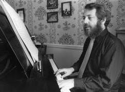 An American composer, at ease with jazz, has passed