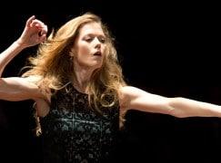 Barbara Hannigan makes her record debut as conductor
