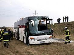 Breaking: 16 injured in Czech Philharmonic bus crash