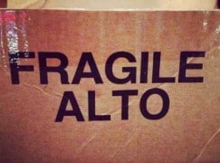 fragile alto