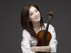 A violinist bounces back from depression