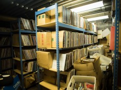 Music critic walks out on his record collection