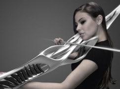 Meet the 3D printed violin