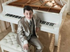 Boy of 11 is awarded music degree