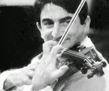 An elegant French violinist lays down his bow