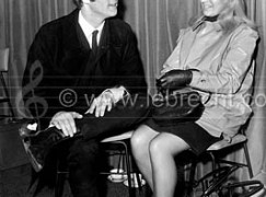 Beatle John Lennon with first wife Cynthia (Julian's mother) early 1960's