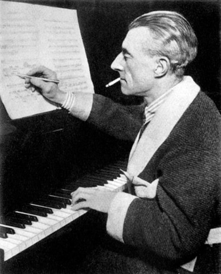 maurice ravel smoking