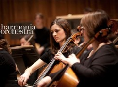 Which Philharmonia Orchestra was playing last night?
