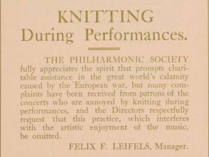 philharmonic notice