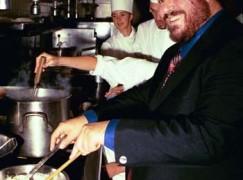 Eat like Lucy: Milan promotes Pavarotti tribute restaurant