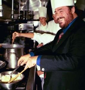 Pavarotti pasta