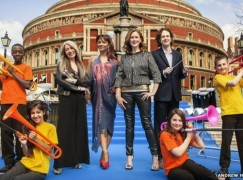 bbc proms plastic trumpets